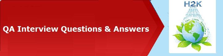 QA Testing FAQ's